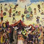 """2010,Venice Beach Vegas Artrageous"" by leclairart"