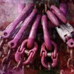 """Pink Chains Composing"" by LutzBaar"