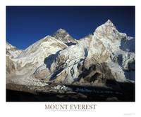Mount Everest, Nuptse, Lhotse and Khumbu Glacier