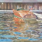 """""""The Wooden Boat"""" by LeAnneSowa"""