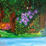 """A Garden Walk"" by Sborshoff"