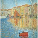 """The Red Buoy, St. Tropez by Paul Signac"" by ArtLoversOnline"