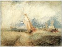 Ships at Sea by J. M. W. Turner