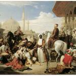 """Slave Market in Constantinople by William Allan"" by ArtLoversOnline"