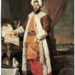 """Portrait of Pasha Mehmed Said by Jacques Aved"" by ArtLoversOnline"