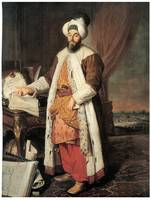 Portrait of Pasha Mehmed Said by Jacques Aved