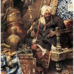 """Arab Dealer Among His Antiques by Charles Bargue"" by ArtLoversOnline"