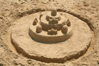 Sand Castle with Moat