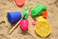 Colorful Beach Toys