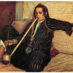 """Woman Smoking Hashish by Emile Bernard"" by ArtLoversOnline"
