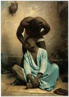The Barber of Suez by Leon Bonnat