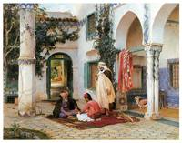 The Courtyard by Frederick Arthur Bridgman