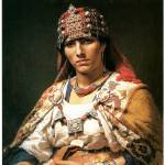 """Portrait of a Kabylie Woman, Algeria"" by ArtLoversOnline"