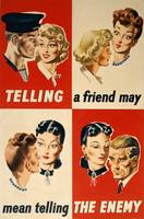 'Telling a friend may mean telling the enemy'