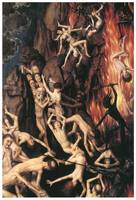 The Last Judgement (detail) by Hans Memling