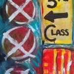 """""""Traveling in 3rd Class"""" by HilaryBlackwoodArt"""