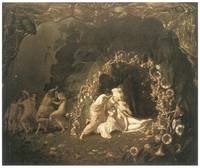 Titania Sleeping by Richard Dadd