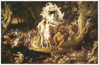 Reconciliation of Oberon and Titania by Paton