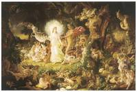 Quarrel of Oberon and Titania by Joseph Paton