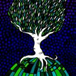 """Twisted Birch in Mosaic"" by SamDow"