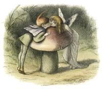 In Fairyland: A Fairy Kiss by Richard Doyle