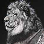 """Lion King"" by Rubina-Art-Gallery"