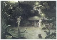 Scene from Midsummer Night's Dream by Danby