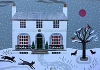 Keats House: Winter