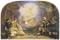 A Fairy Scene, Rothkappchen by Corbould