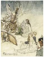 And a Fairy Song by Arthur Rackham