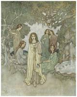 The Garden of Paradise by Edmund Dulac