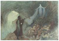 Fairy Appearing to the Prince by Warwick Goble