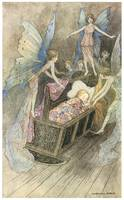 Sweetly Singing Round Thy Bed by Warwick Goble