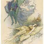 """Wake When Some Vile Thing is Near by Warwick Goble"" by ArtLoversOnline"