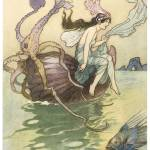 """For the Nautilus is My Boat by Warwick Goble"" by ArtLoversOnline"