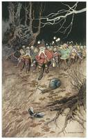 Padding Feet of Gnomes a-coming by Warwick Goble