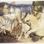"""The Riders of the Sidhe by John Duncan"" by ArtLoversOnline"