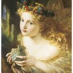 """Fair Face of Woman by Sophie Anderson"" by ArtLoversOnline"