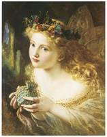 Fair Face of Woman by Sophie Anderson