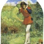 """Ferdinand Lured by Ariel by John Everett Millais"" by ArtLoversOnline"