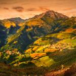"""View from Monte Alben, Italy"" by loreee"