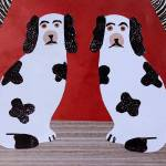 """A Staffordshire Pair"" by AmandaWhite"
