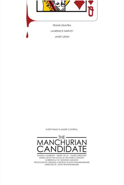 manchurian candidate psychological analysis 2 plot summary this is a classic film, and a great reflection of the anxiety-filled times in which it was produced it is the story of a group of american soldiers who are captured.