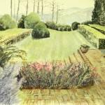 """Formal Garden Clemson SC"" by ediehamblin"