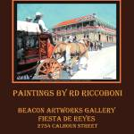 """RD Riccoboni Old Town San Diego Poster"" by BeaconArtWorksCorporation"