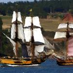 """Penn Cove Sailing Ships Variation 3"" by gopnw"