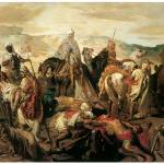 """Arab Horsemen Reclaiming Their Dead"" by ArtLoversOnline"