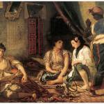 """Algerian Women in Apartments by Eugene Delacroix"" by ArtLoversOnline"