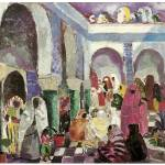 """Patio in Algiers by Charles Dufresne"" by ArtLoversOnline"
