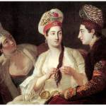 """Turkish Women by Antoine de Favray"" by ArtLoversOnline"